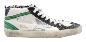 Golden Goose Deluxe Brand Distressed White Athletic