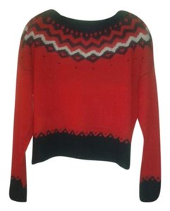 DEB Crop Holiday Sweater