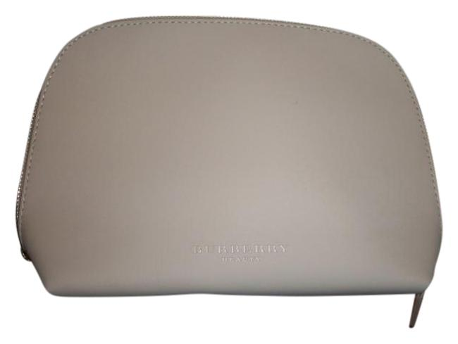 Item - Tan New Without Beauty Make Up Cosmetic Bag