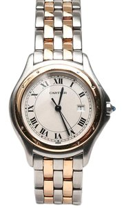 Cartier Cartier 1332 Cougar Panthere Two Tone Roman Dial Watch