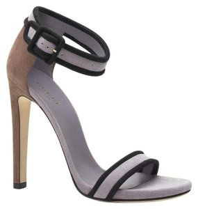 Gucci Suede Sandal Ankle Lilac Sandals