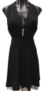 Betsy & Adam Lbd Halter Dress