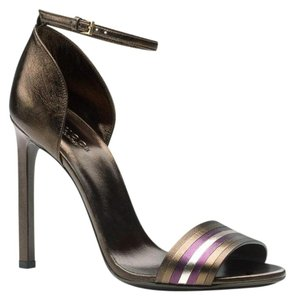 Gucci Gucci; 339834; Dark Brown/2575 Sandals