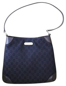 Gucci Gg Fabric Hobo Bag