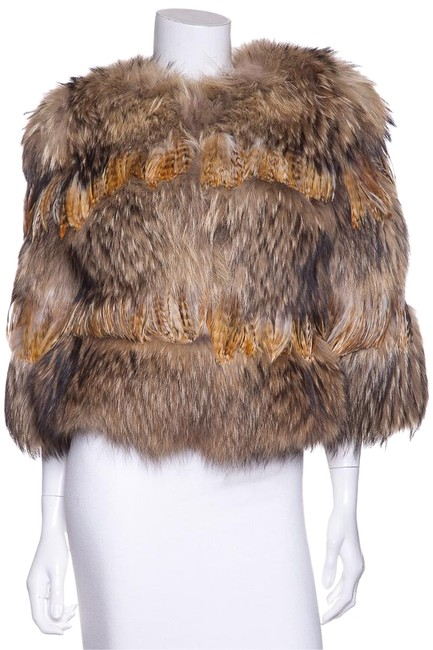 Preload https://img-static.tradesy.com/item/20203093/michael-kors-fox-and-feather-size-os-one-size-0-1-650-650.jpg