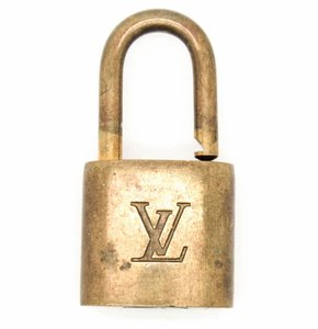 Louis Vuitton #9486 Gold Tone Brass open Lock And NO Key #305