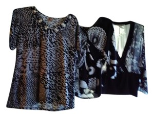 JM Collection Top Black prints