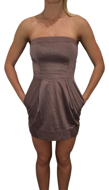 Preload https://item4.tradesy.com/images/french-connection-dress-dark-nude-2020323-0-0.jpg?width=400&height=650