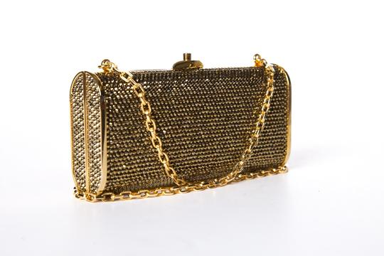 Judith Leiber Gold Clutch