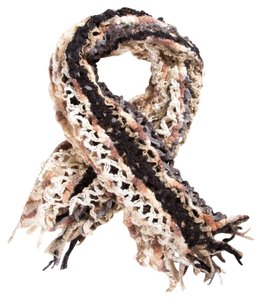 Missoni Missoni Open Knit Chevron Scarf