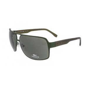 Lacoste Lacoste Khaki Rectangle sunglasses