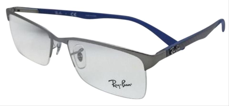 4215f01ce Ray-Ban New Rx-able Rb 8411 2620 54-17 Gunmetal-blue W/ Carbon Fiber ...