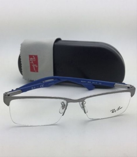Ray-Ban RAY-BAN Rx-able Eyeglasses RB 8411 2620 54-17 Gunmetal w/Carbon Fiber