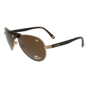Lacoste Lacoste Rose Gold Vintage Aviator sunglasses