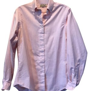 L.L.Bean Button Down Shirt Light pink