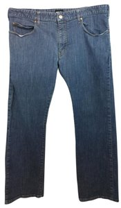 Giorgio Armani GIORGIO ARMANI STRETCH BLUE COTTON DENIM MEN'S JEANS 40