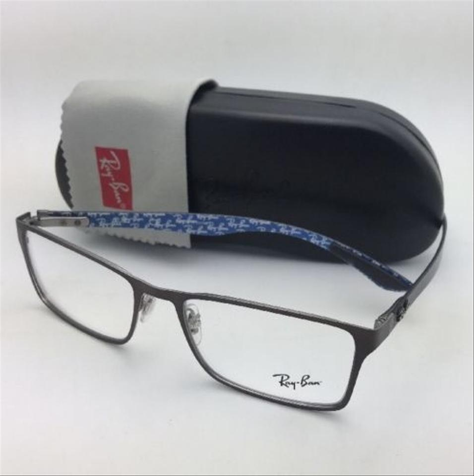 8c61425704dde Ray-Ban New Rx-able Rb 8415 2862 53-17 Brown-blue W  Carbon Fiber Brown W   Sunglasses - Tradesy