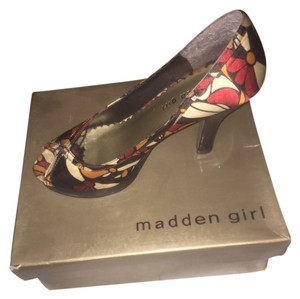 Madden Girl Brown Multi-color Platforms