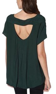 Silence + Noise Urban Outfitters Top Green