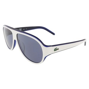 Lacoste Lacoste White Aviator sunglasses