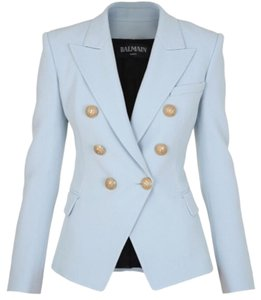 Balmain Light Blue Blazer