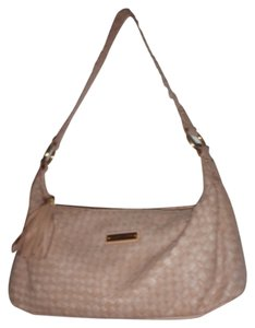 Elliott Lucca Handbag Woven Leather Hobo Bag