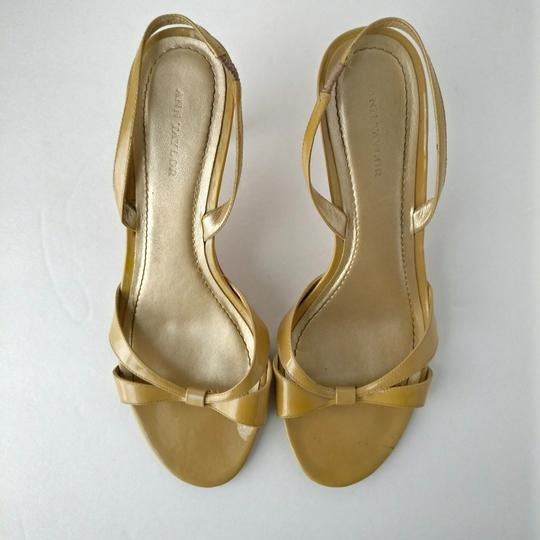 Ann Taylor Nude Sandals Image 3