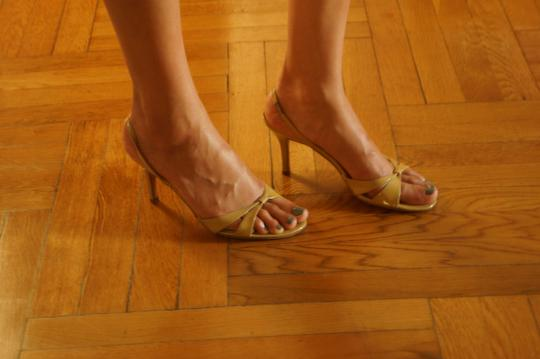 Ann Taylor Nude Sandals Image 8