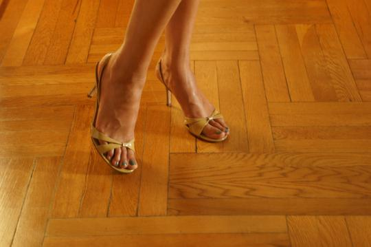 Ann Taylor Nude Sandals Image 9