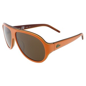 Lacoste Lacoste Orange/Light Orange Aviator sunglasses