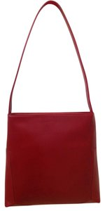 Kenneth Cole Vintage Burgundy Leather Shoulder Bag