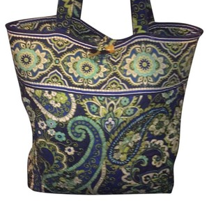 Vera Bradley Deepal Tote in Rhythm & Blues