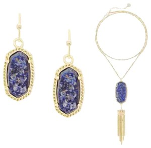 Kendra Scott Rayne Necklace Lee Earrings