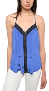 Silence + Noise Urban Outfitters Top Blue