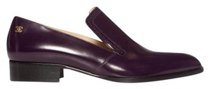 Chanel Brand New dark purple Flats