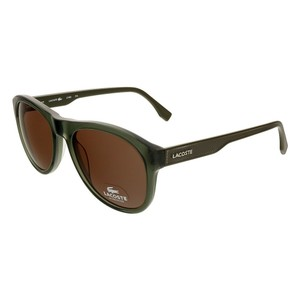 Lacoste Lacoste Olive Green Round sunglasses
