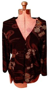 Coldwater Creek Spandex Buttons Button Down Shirt