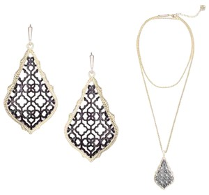 Kendra Scott Aiden Necklace Addie Earrings