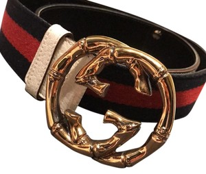 Gucci Gucci CC Blue and Red belt