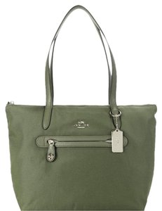 Coach Tote in Surplus Green
