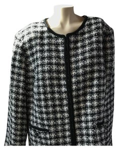 Tahari black & white Jacket