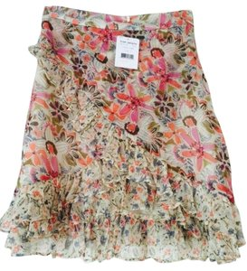 Free People Floral Floral Summer Floral Wrap Floral Mini Mini Skirt