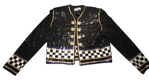St. John Elegant Fun Rare Military Jacket