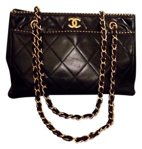 Chanel 80s Barneys New York Pinterest Saks 5th Avenue Runway Satchel in Black