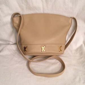 Paloma Picasso Leather Tan Cross Body Bag