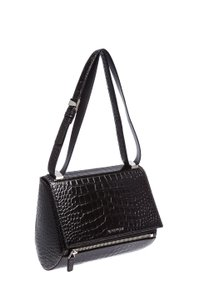 Givenchy Casual Croc Leather Classic Shoulder Bag