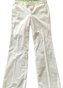 Lilly Pulitzer Flare Pants Cream