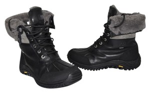 UGG Australia Winter Snow Waterproof BLACK GREY Boots