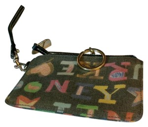 Coach Coach Wallet with Colorful Text
