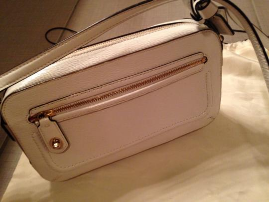 Coach Patent Leather Gold Hardware Cross Body Bag Image 1